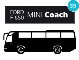 Wedding Transportation Berwyn IL - Party Buses, Charter Bus Rental | Chicago Limo Coach 1 - ford0