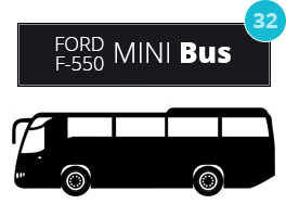 Berwyn Mini Coach - Luxury Ground Transportation | Chicago Limo Coach 1 - ford550
