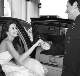 Wedding Transportation Chicago: Limos & Party Buses | Chicago Limo Coach - wedding1