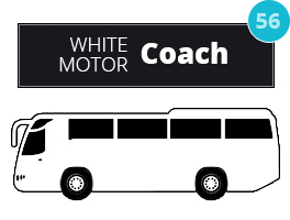 Motor Coach Rental Oak Lawn IL | Chicago Limo Coach 1 - whitemotor0